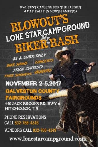Blowou's Lone Star Campground Biker Bash